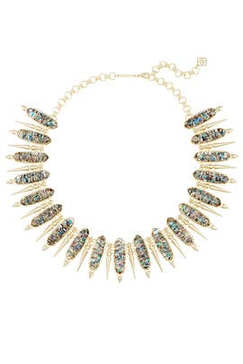 Abalone Gwendolyn Necklace by Kendra Scott