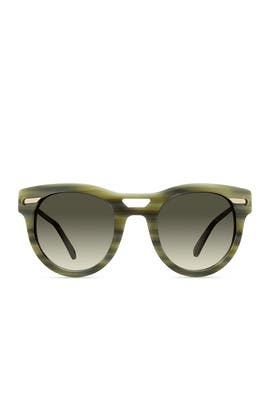 Green Horn Kim Sunglasses by DEREK LAM Sunglasses