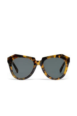 Crazy Tort Number One Sunglasses by Karen Walker