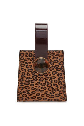 Bold Leopard Pronto Purse by Lizzie Fortunato