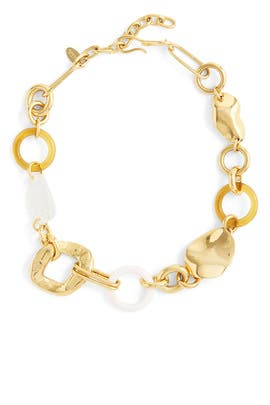 Abstract Link Collar by Lizzie Fortunato
