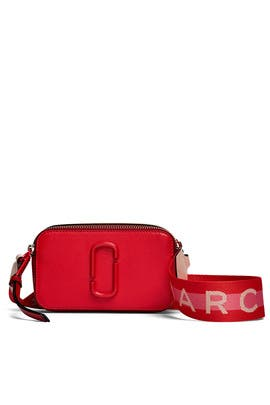 Poppy Red Snapshot Crossbody by Marc Jacobs Handbags
