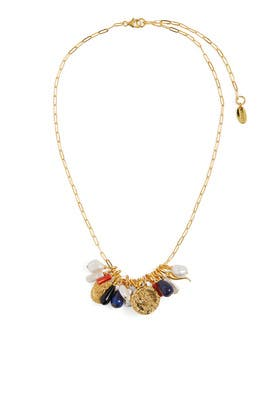 Heritage Charm Necklace by Lizzie Fortunato