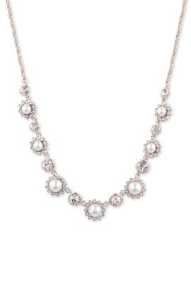 Crystal Victory Necklace by Marchesa Jewelry