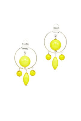 Yelllow Chandelier Earrings by 3.1 Phillip Lim Accessories