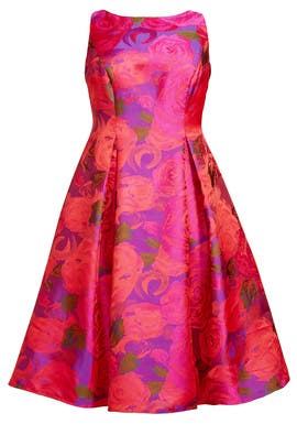 Electric Blossom Dress by Adrianna Papell