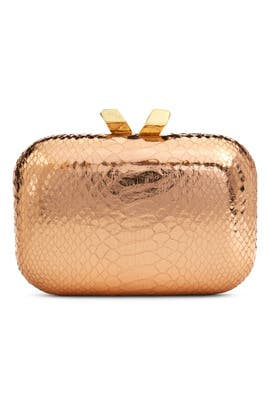 Rose Gold Margo Minaudiere by Kotur