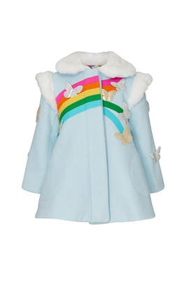 Kids Rainbow Dreamer Coat by Little Goodall