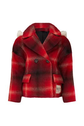 Kids Faux Shearling Jacket by No. 21 Kids