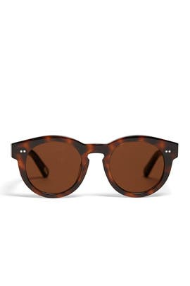 Tortoise Round Sunglasses by CHiMi Eyewear