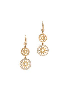 Dainty Detour Earrings by Marchesa Jewelry