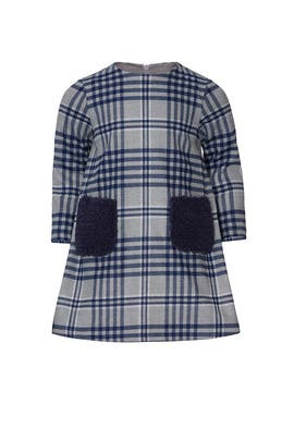 Kids Flannel Check Dress by Il Gufo Kids