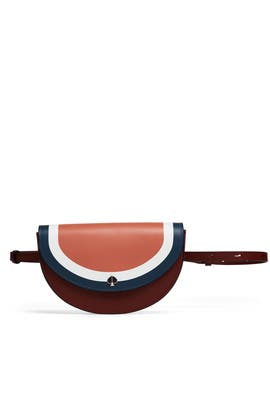 Andi Stripe Small Half Moon Belt Bag by kate spade new york accessories