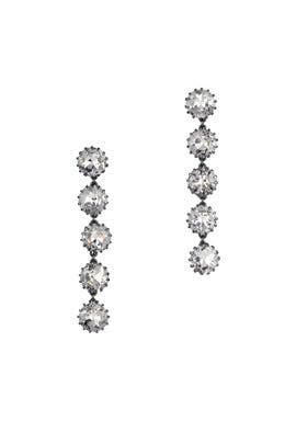 Charcoal Stone Earrings by Sam Edelman Jewelry