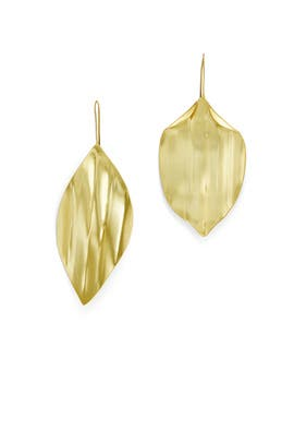Mismatched Leaf Earrings by Tory Burch Accessories