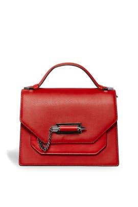 Red Keeley Satchel by Mackage Handbags