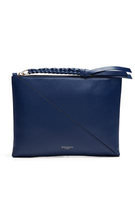Blue Tupi Pouch by Nina Ricci Accessories