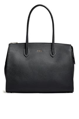 Onyx Pin Satchel by Furla