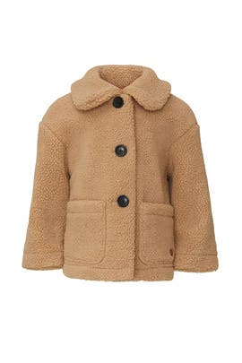 Kids Sand Teddy Jacket by Scotch & Soda Kids