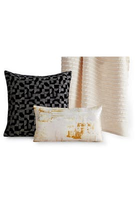 Painterly Brocade Pillow Bundle by West Elm