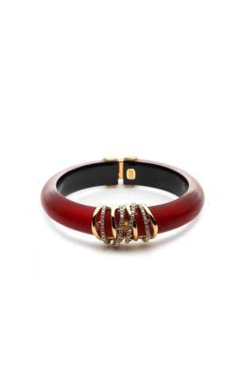 Pave Orbiting Hinge Bracelet by Alexis Bittar