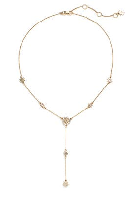 Dainty Detour Necklace by Marchesa Jewelry