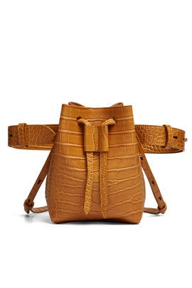 Tan Minee Bucket Bag by Nanushka Accessories