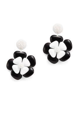 Horn Flower Earrings by Sachin & Babi Accessories