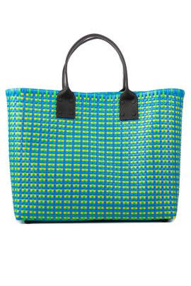 Large Printed Woven Tote by Truss