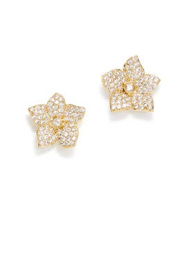 Pave Bloom Earrings by kate spade new york accessories