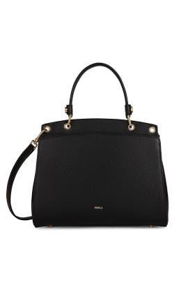 Onyx Adele Top Handle Bag by Furla