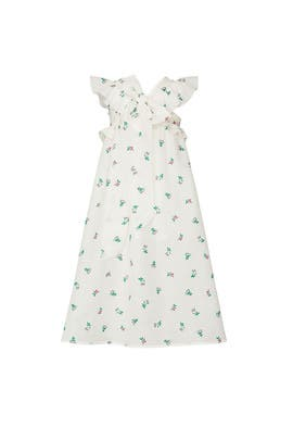 Kids Long Bow Dress by Philosophy di Lorenzo Serafini Kids