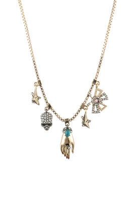 Vanitas Charm Necklace by Alexis Bittar
