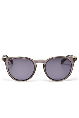 Grey Acetate Sunglasses by Gucci