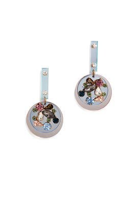 Jeweled Mirror Earrings by J.Crew Accessories