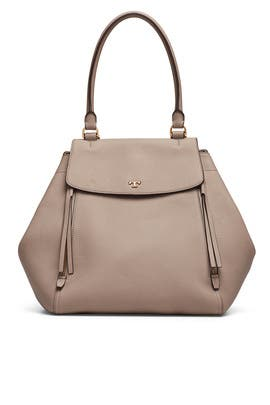 3a113fe18d Grey Half Moon Tote by Tory Burch Accessories for $90 | Rent the Runway