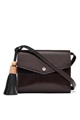 Chocolate Eloise Field Bag by Elizabeth and James Accessories