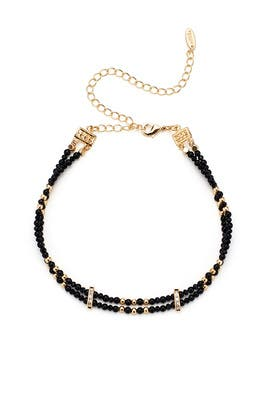 Double Onyx Choker by Ettika
