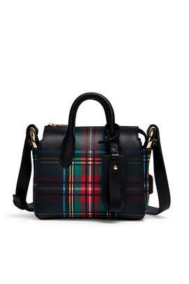 Plaid Harper Mini Satchel by J.Crew Accessories