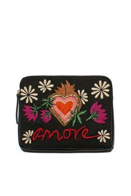 Amore Safari Clutch by Lizzie Fortunato