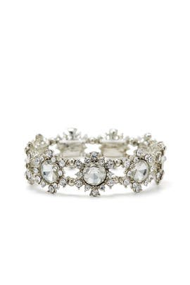 7284c392418376 Silver Crystal Stretch Bracelet by Slate   Willow Accessories for  8 ...