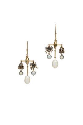 Charm Chandelier Earrings by Tory Burch Accessories
