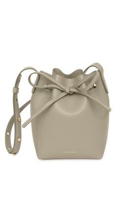 Elefante Saffiano Mini Mini Bucket Bag by Mansur Gavriel Accessories
