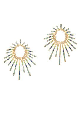 Criss Cross Sun Earrings by Joanna Laura Constantine