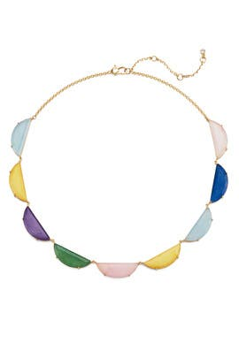 Half Moon Scallop Collar Necklace by kate spade new york accessories