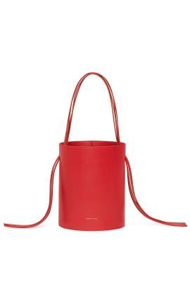 Flamma Calf Fringe Bucket Bag by Mansur Gavriel Accessories