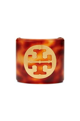 Resin Logo Cuff by Tory Burch Accessories