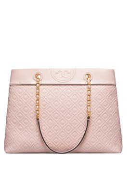 f5cfc9094f4 Pink Fleming Tote by Tory Burch Accessories. fronttopwithModel