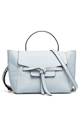 Pale Lapis Annie Satchel by Annabel Ingall