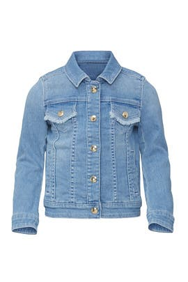 Kids Denim Logo Jacket by Chloé Kids